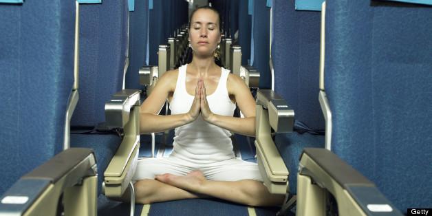 Air Yoga Anyone? Image: Huffington Post, link  here
