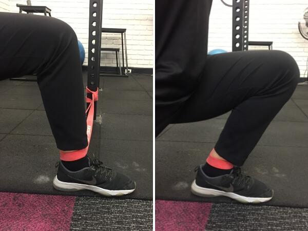 Image 1: Beginning Position, Image 2: End Position.