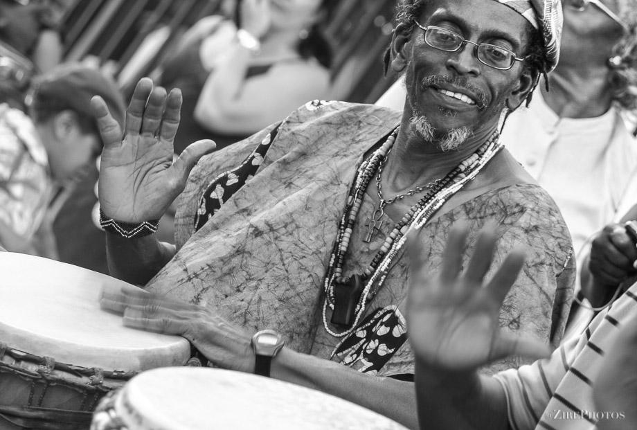Master Drummer at BAM Street Festival
