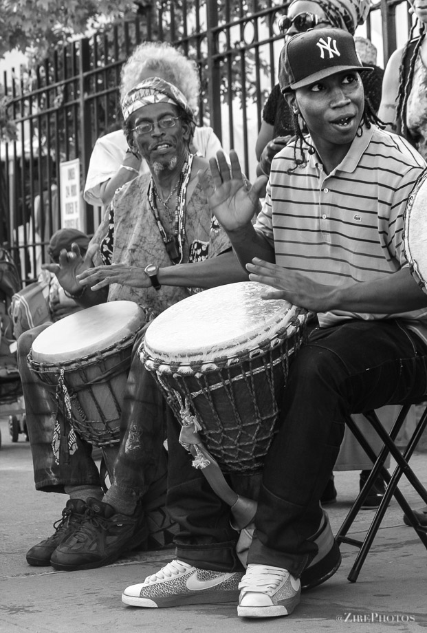 Young Drummer Finds The Beat.
