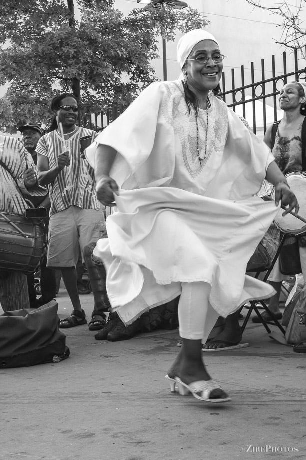 Song and Dance at the BAM Street Fair Festival