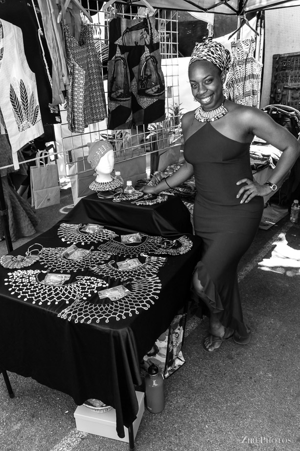 Jewels and Designs at the BAM Street Fair Festival