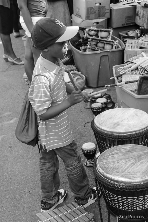 An interest in Drumming