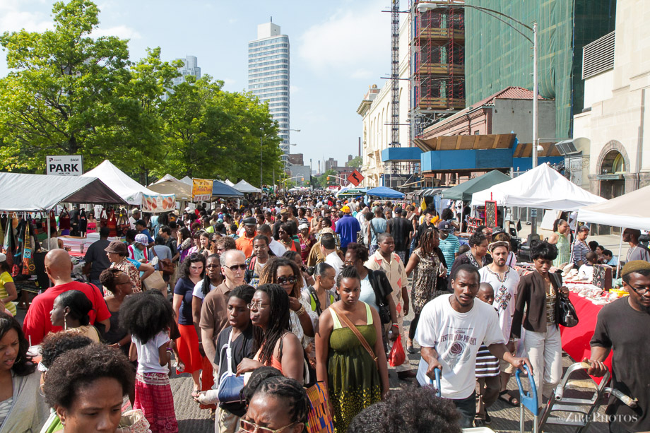 The BAM Street Fair Festival in Brooklyn