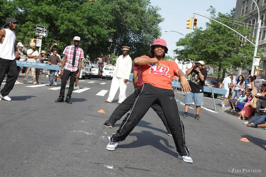 Breakdancing at the BAM Street Fair Festival
