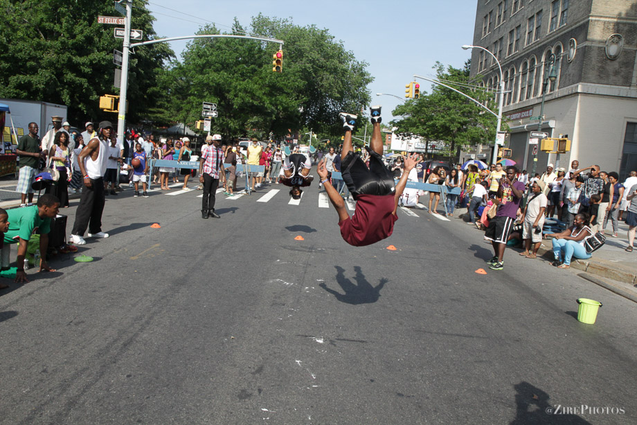 Elevation at the BAM Dance Africa Street Fair