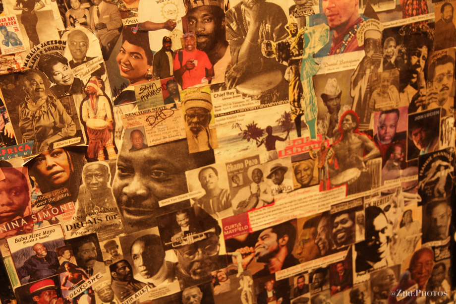 Tribute Mural to the ancestors at BAM