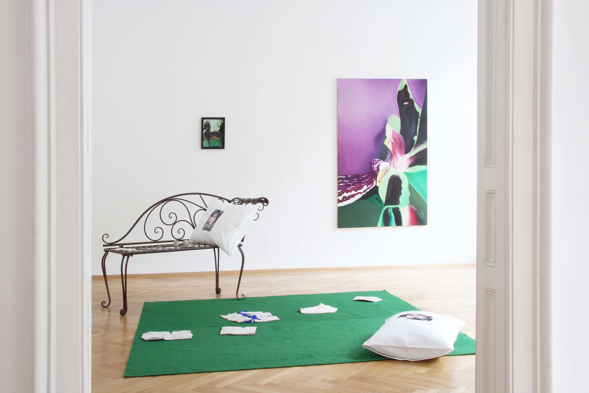 YUNG & CONCERNED Installation view