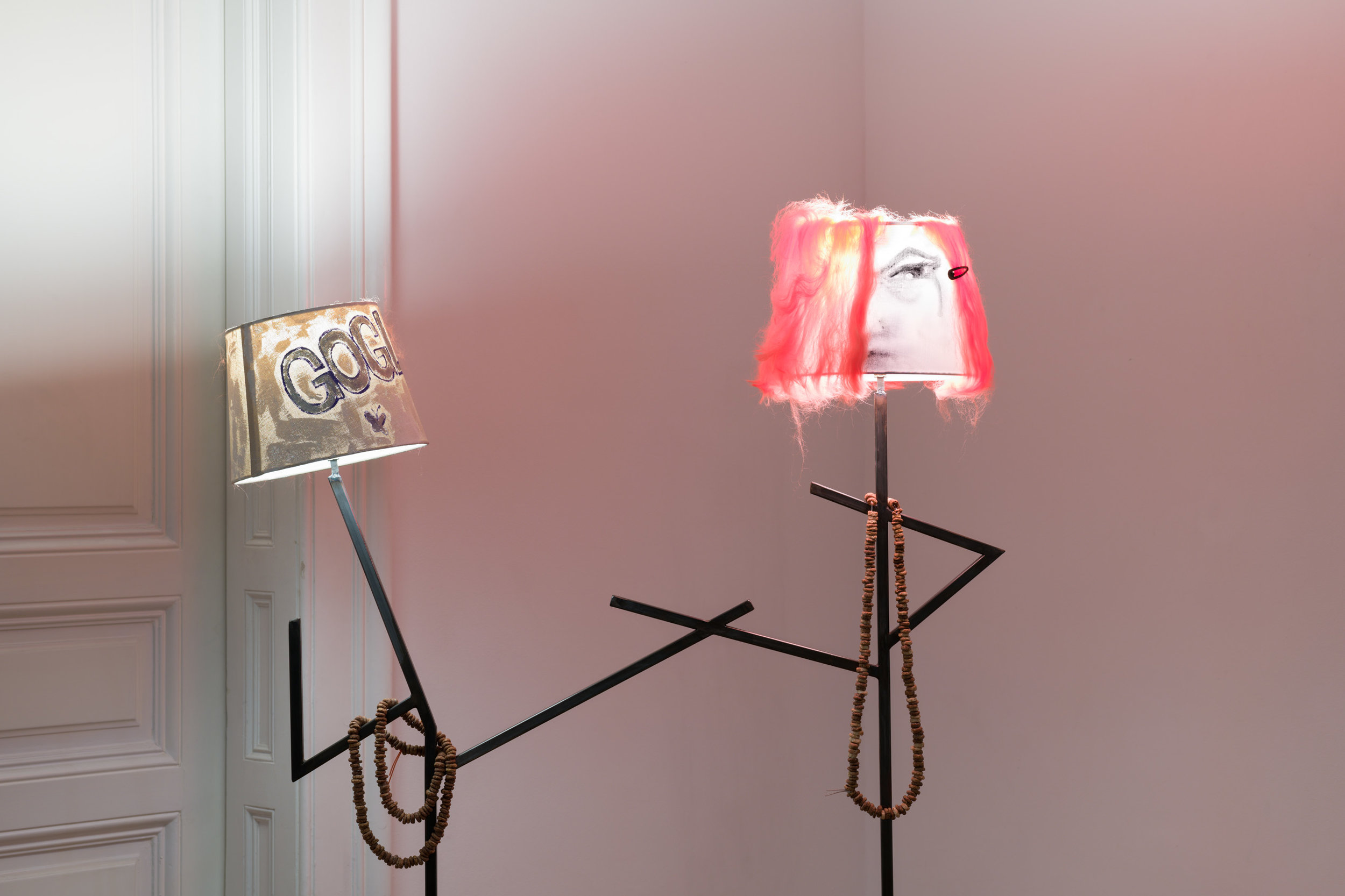 Sophie Gogl, Me as a Lamp, 2019