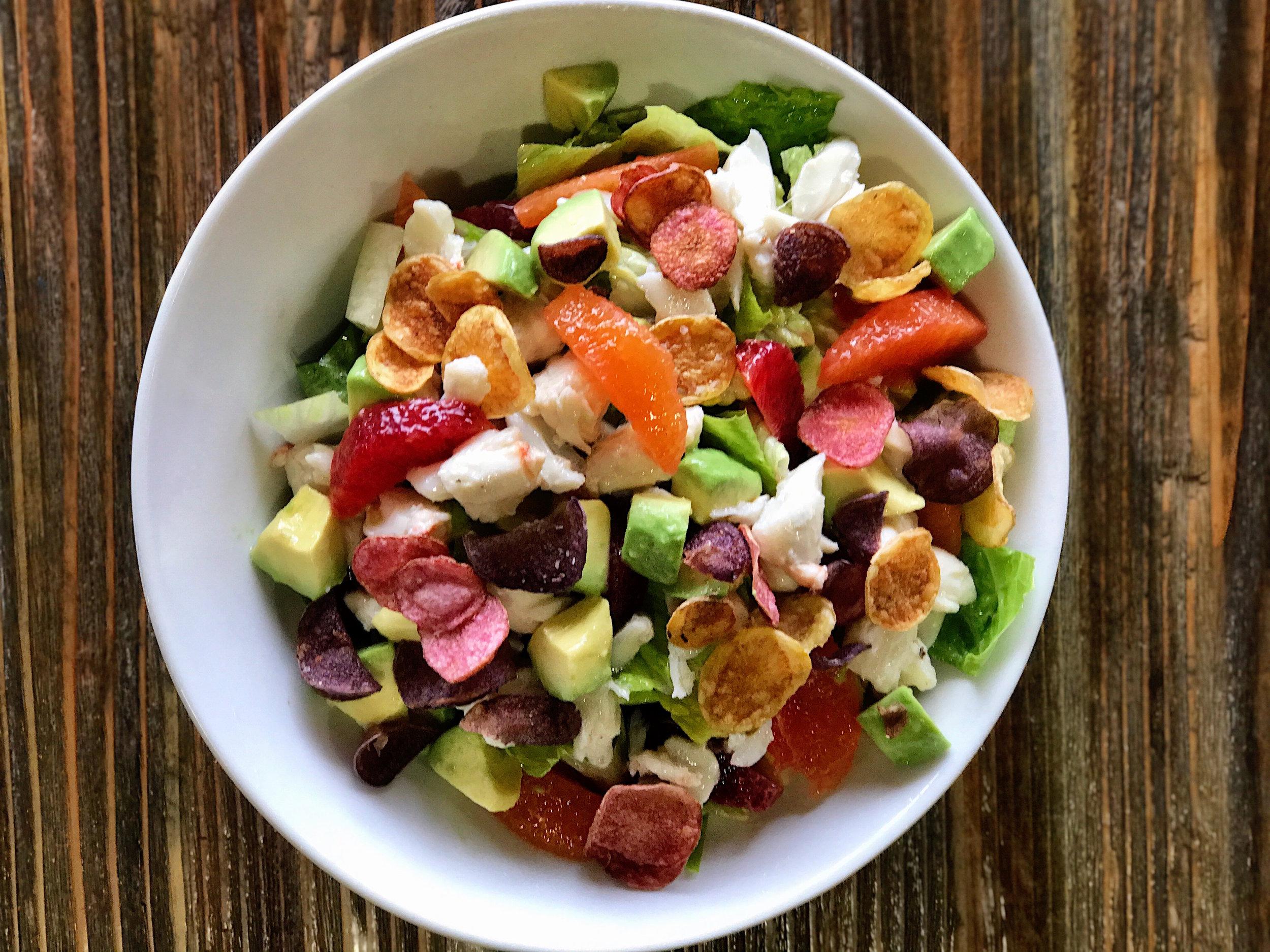 CRAFTkitchen Las Vegas CItrus & Crab Salad.JPG