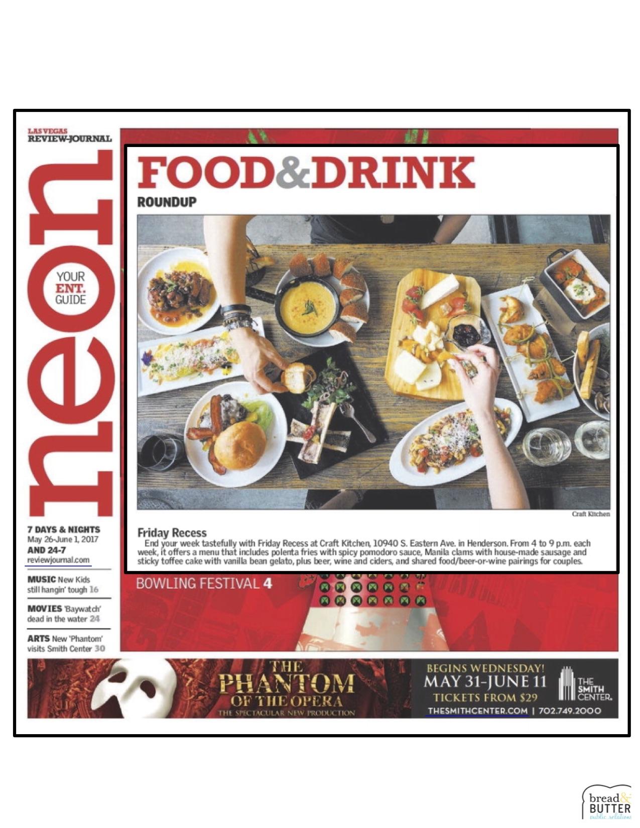 Las Vegas Review-Journal 5.26.17 CRAFTkitchen.jpg
