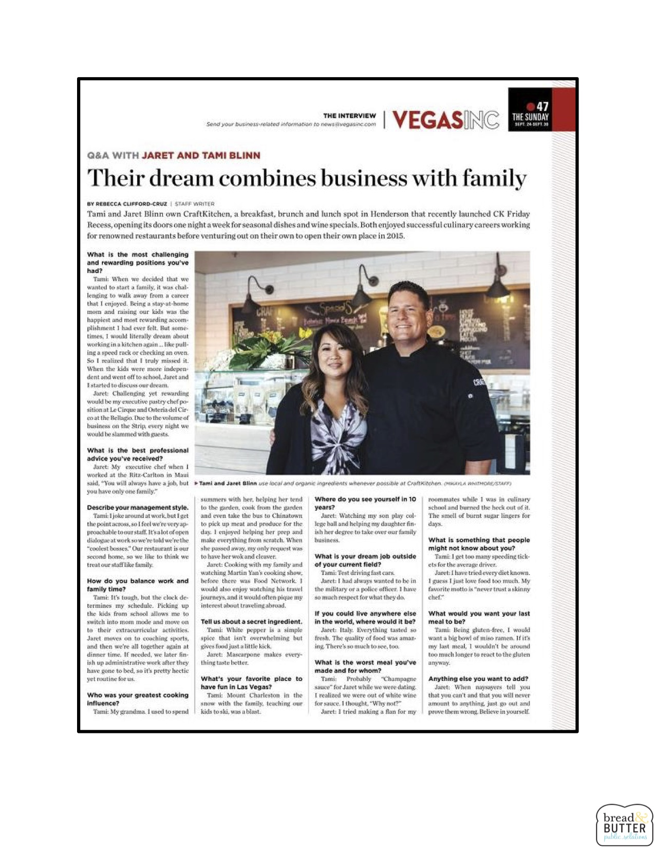 Their Dream Combines Business with Family