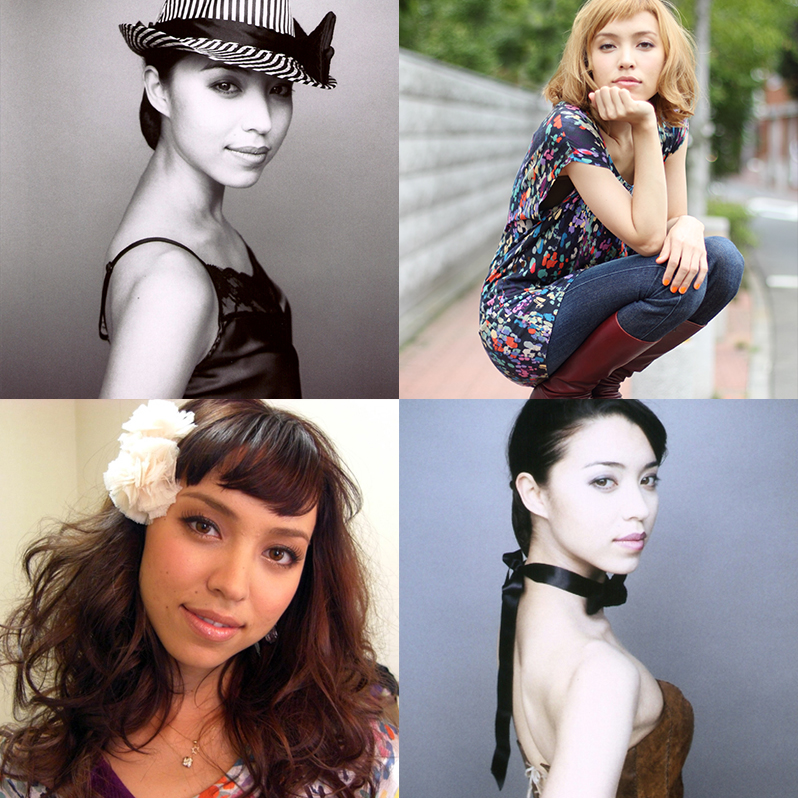 top left, bottom right: Lisa Roze top right: Shuhei Fujita