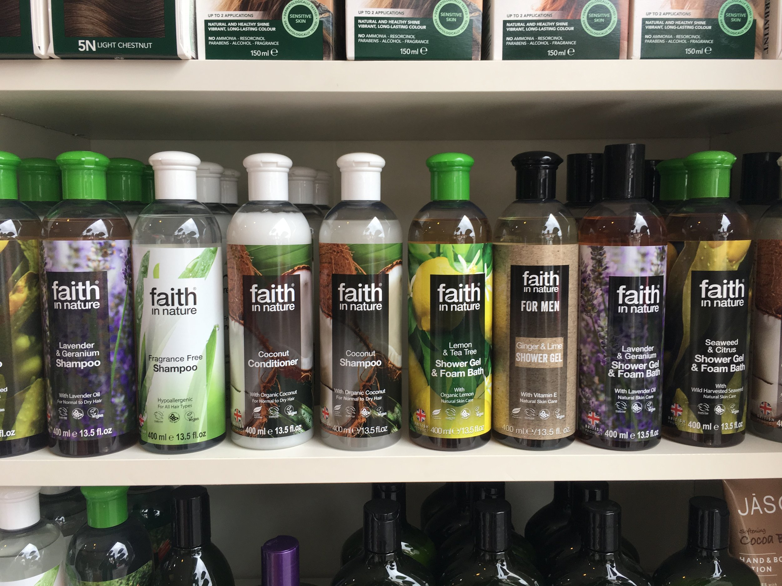 FANTASTIC ORGANIC SHAMPOOS & CONDITIONERS