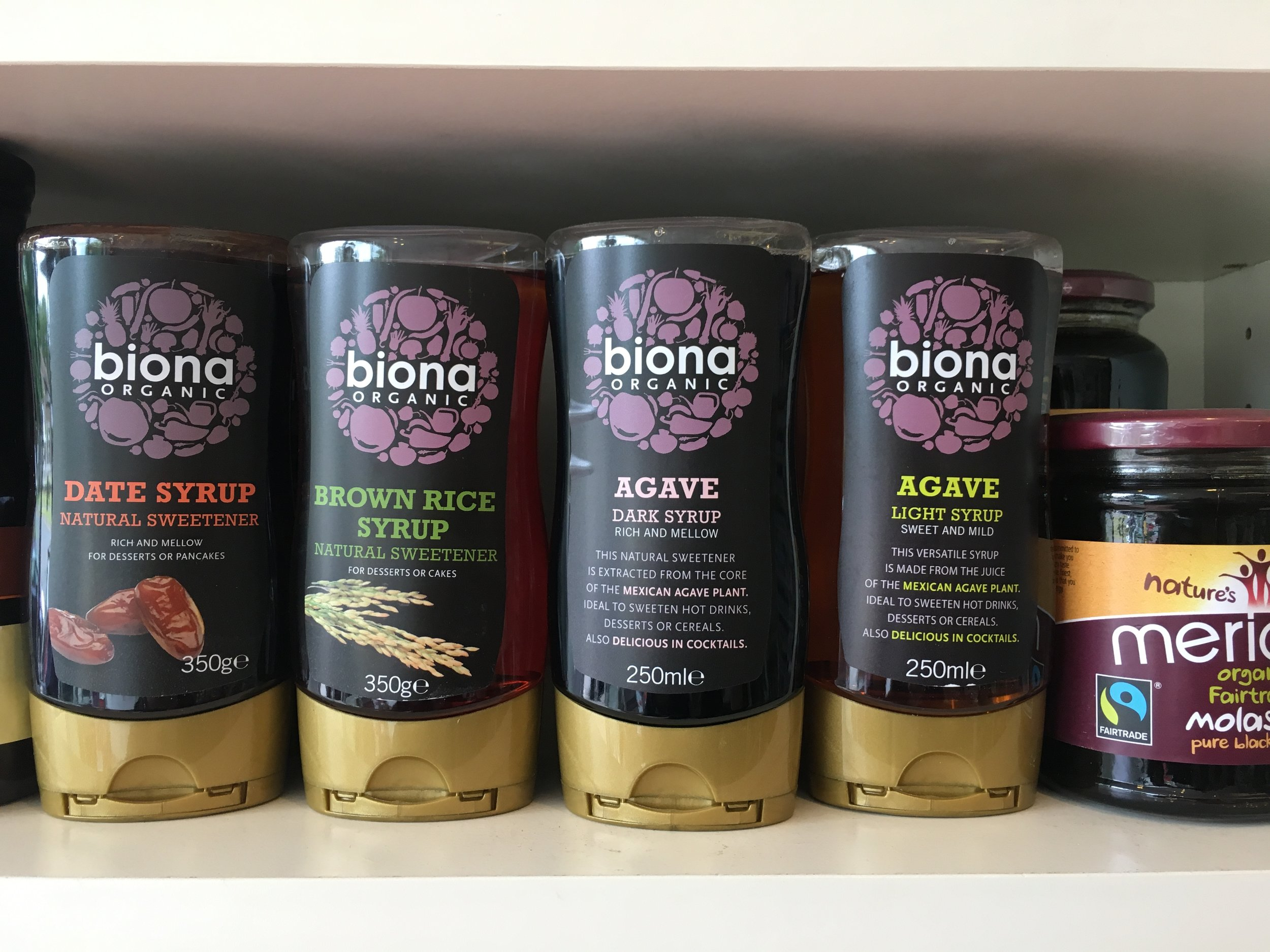 GREAT RANGE OF ORGANIC PRODUCTS