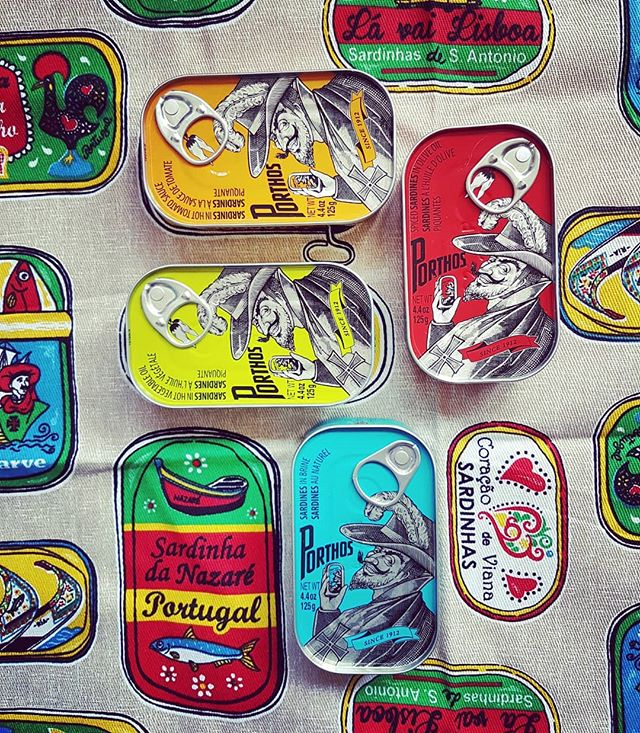 So I went to Portugal over Easter and returned full of custard. Read my blog post on how I fared eating all the carbs at every meal, link in bio... . . . #portugal #porto #lisbon #foodblogger #foodandtravel #londonblogger #eatandtravel #igfood #sardines #design #packaging #europe #igtraveller #wanderlust #tiles #custard #carbs #allthecarbs