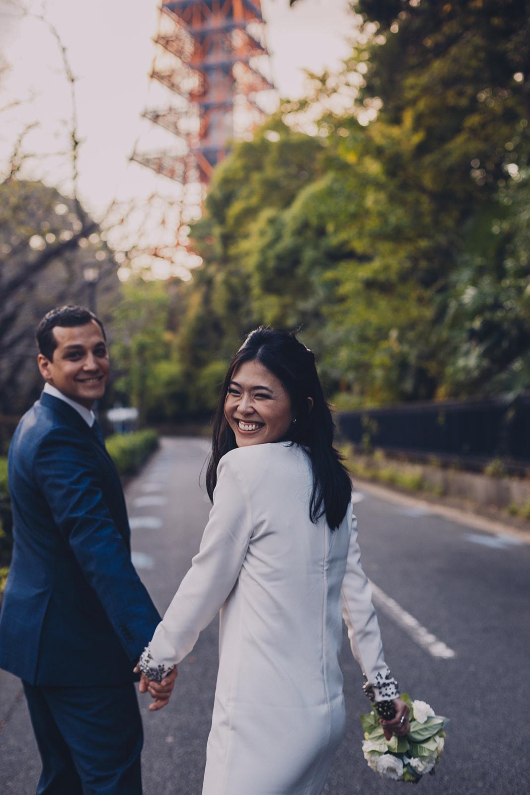 Prewedding pre wedding engagement in Tokyo Japan hire photographer (11).jpg