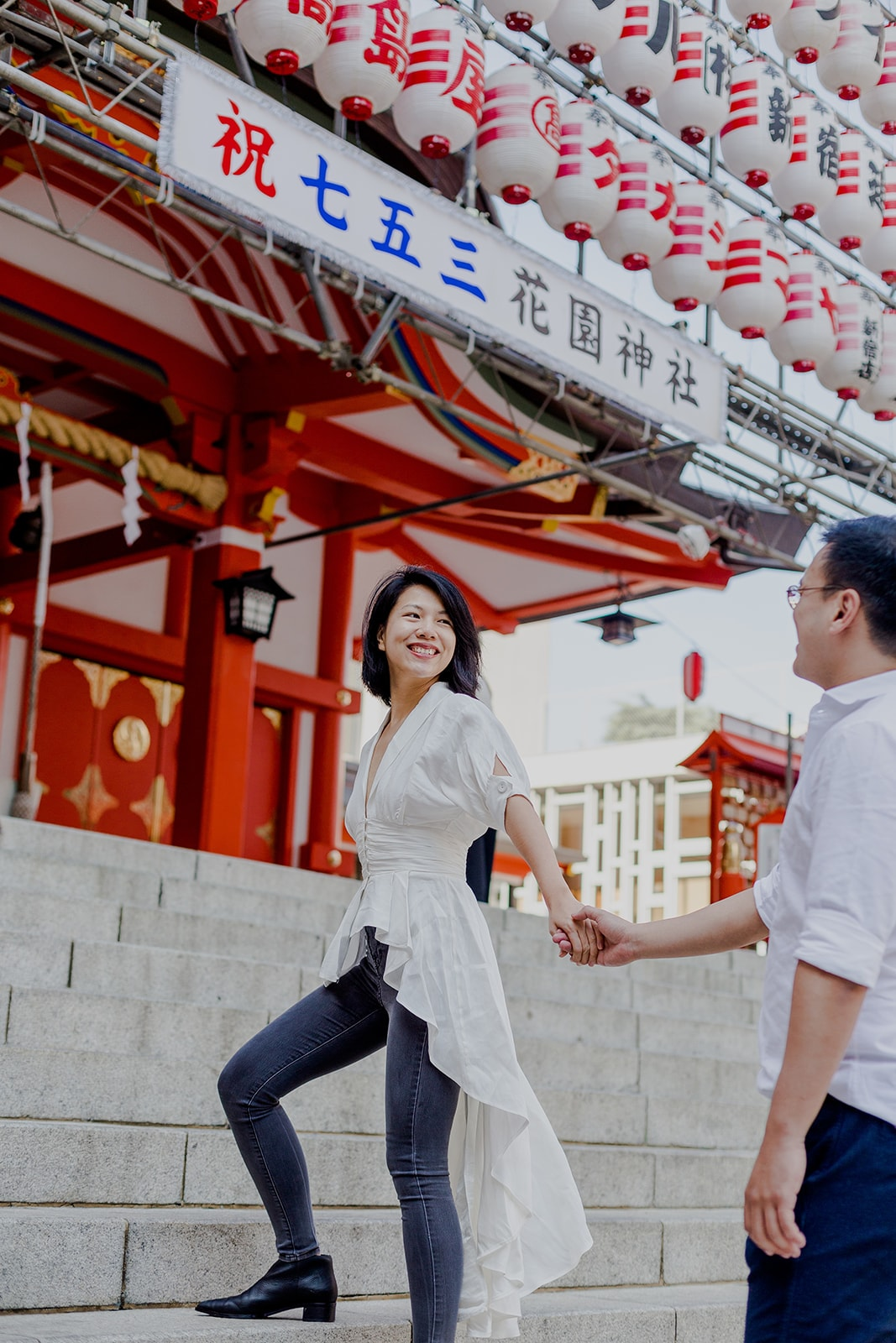 Prewedding pre wedding engagement in Tokyo Japan hire photographer (8).jpg