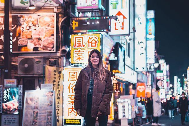 The city of neon lights ✨ #PhotoMyTokyo