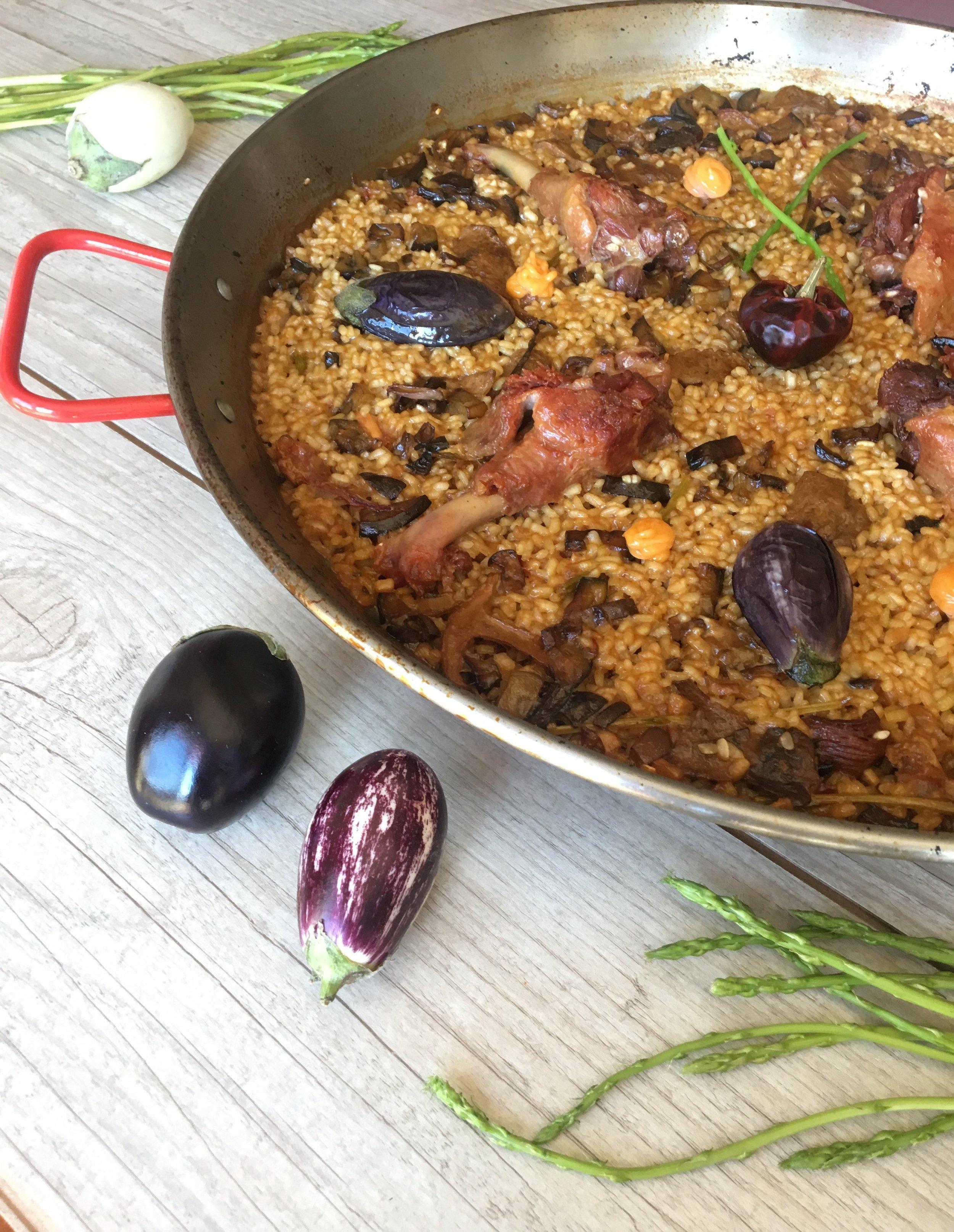 best paella duck catering ibiza wedding paela chef