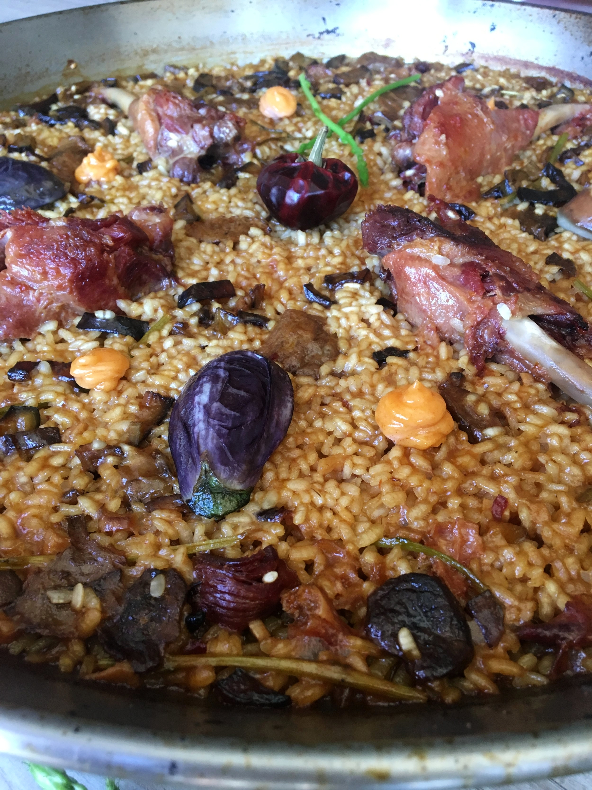 paella duck ibiza chef catering best paella experience weddings catering service delivery and takeaway ibiza