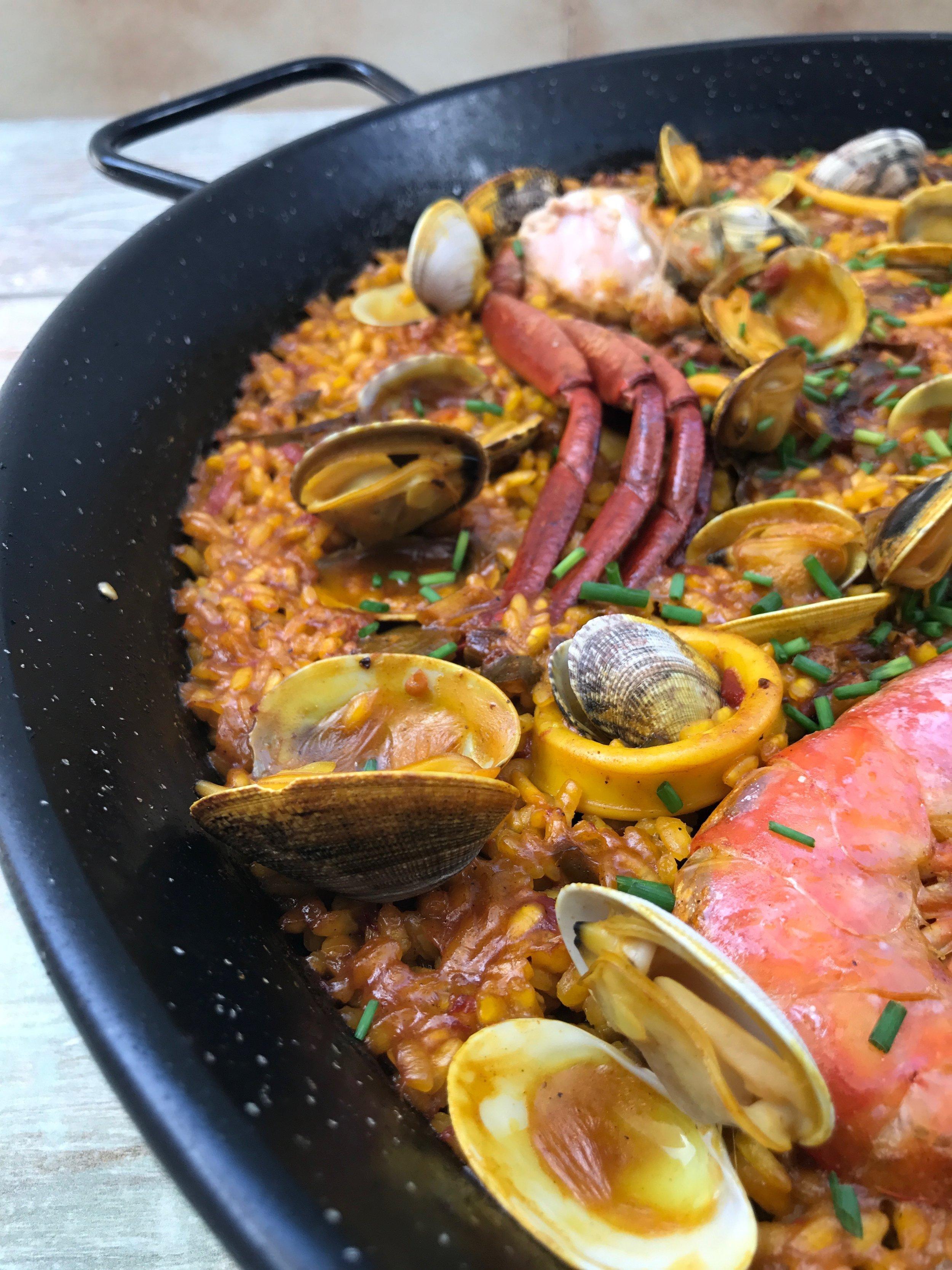 mejor paella de marisco de ibiza
