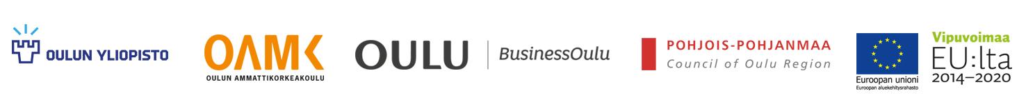 Oulun yliopisto, Oulun ammattikorkeakoulu, Business Oulu, Pohjois-pohjanmaa, Euroopan Unioni aluekehitysrahasto, Vipuvoimaa EU:lta