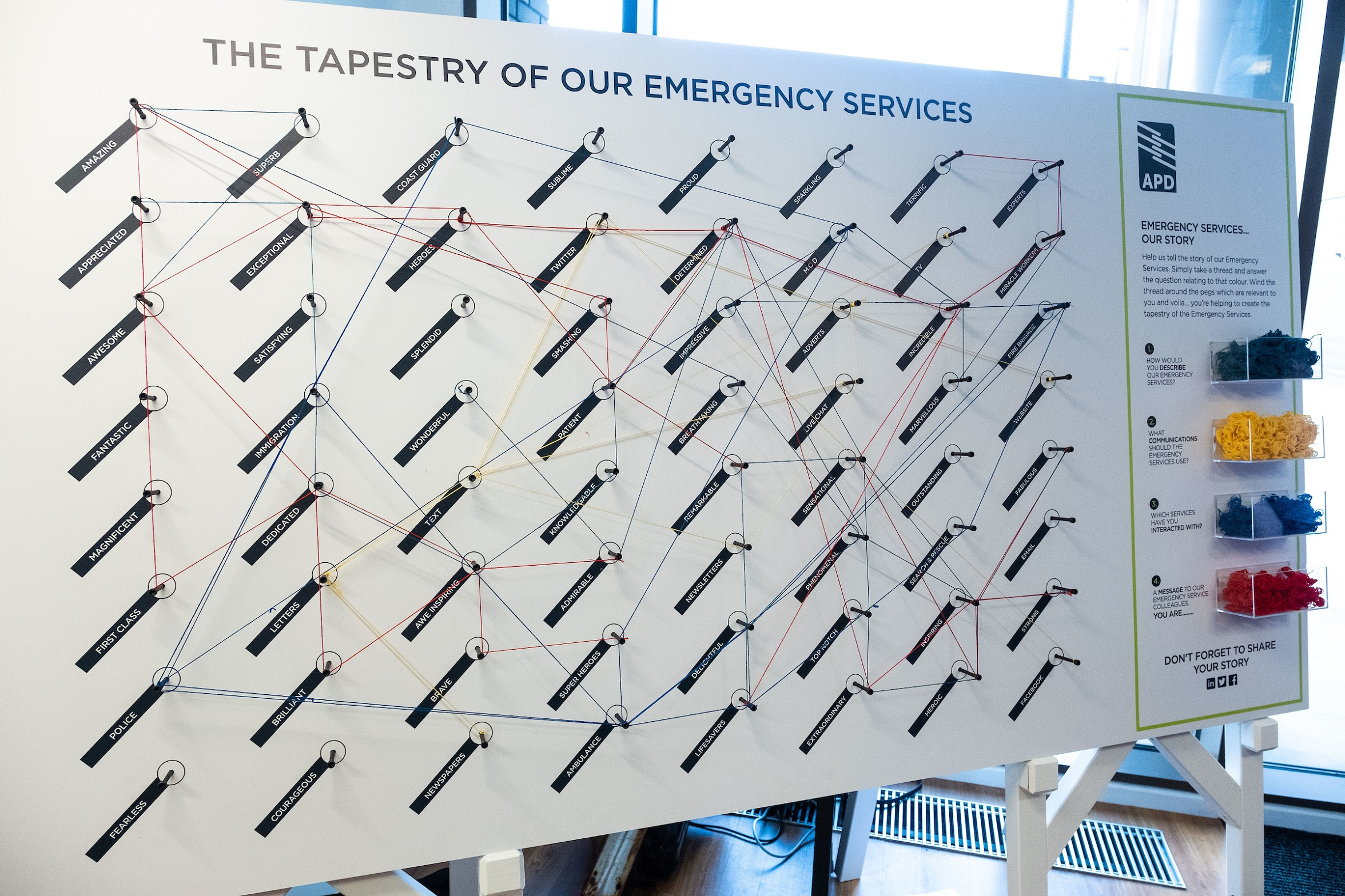 our Tapestry of the Emergency Services
