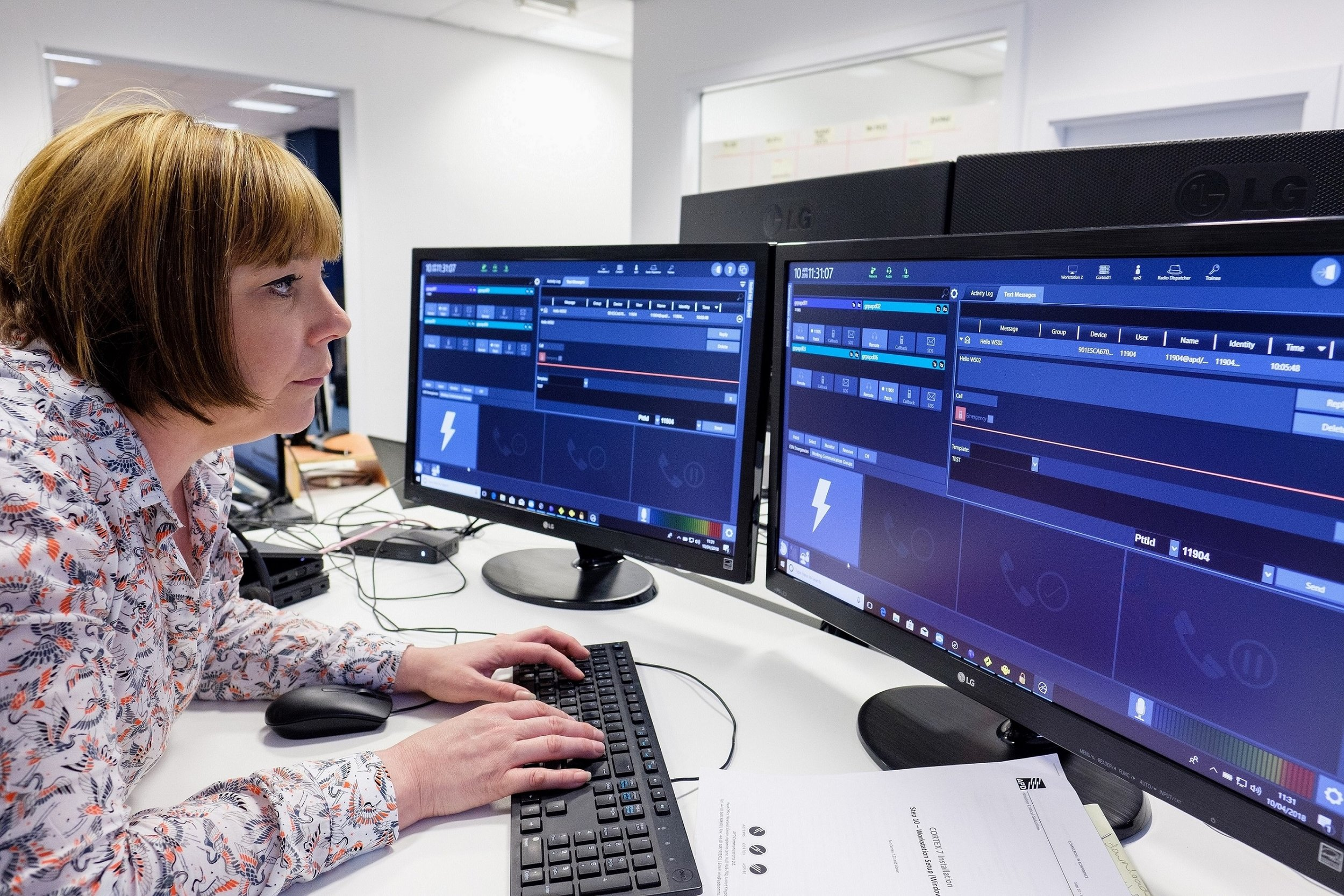 Software Quality Assurance Engineer Keeley Barrick, a member of APD's Hull-based team developing leading technologies such as the Cloud Control Room.
