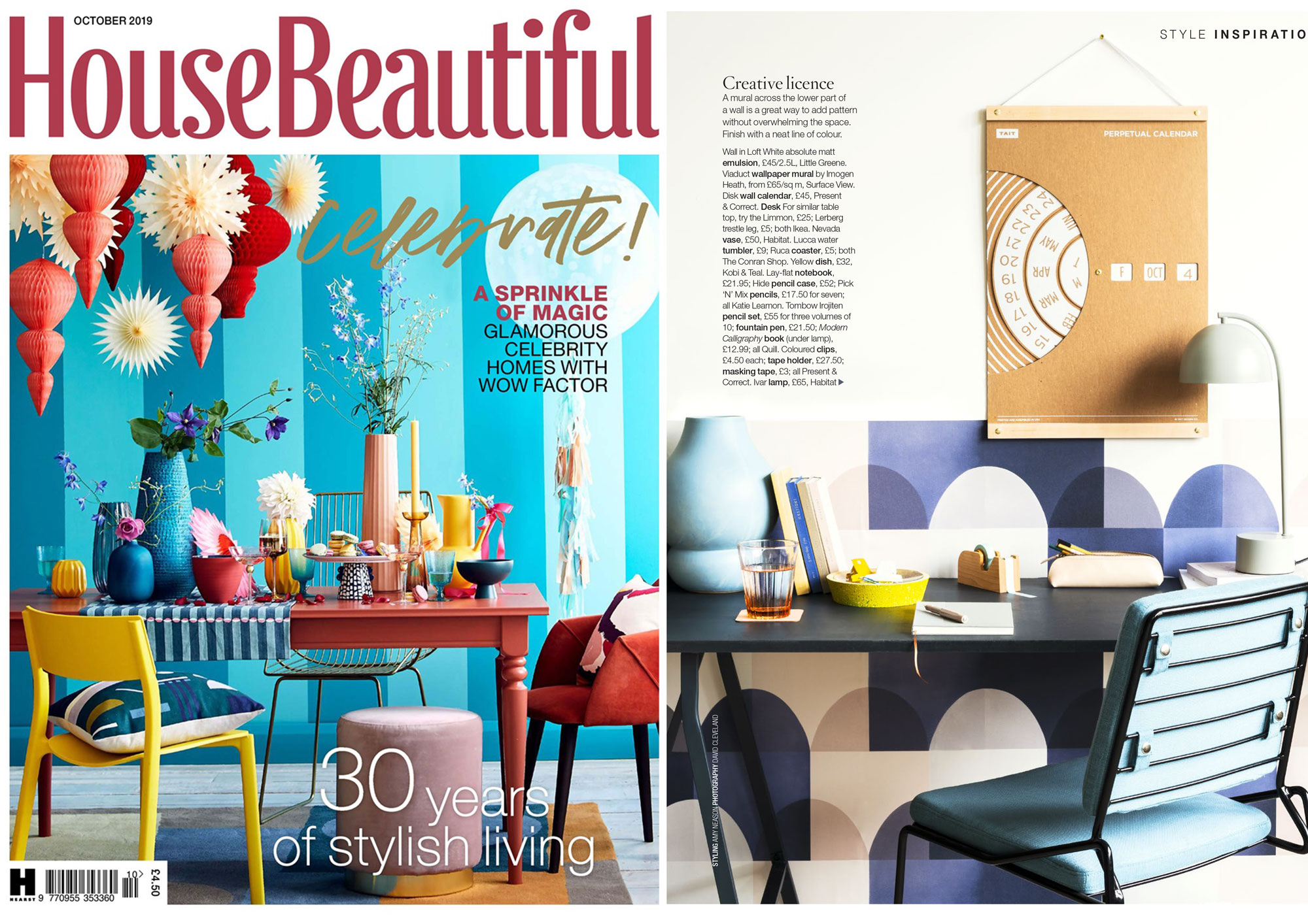 House Beautiful October 2019