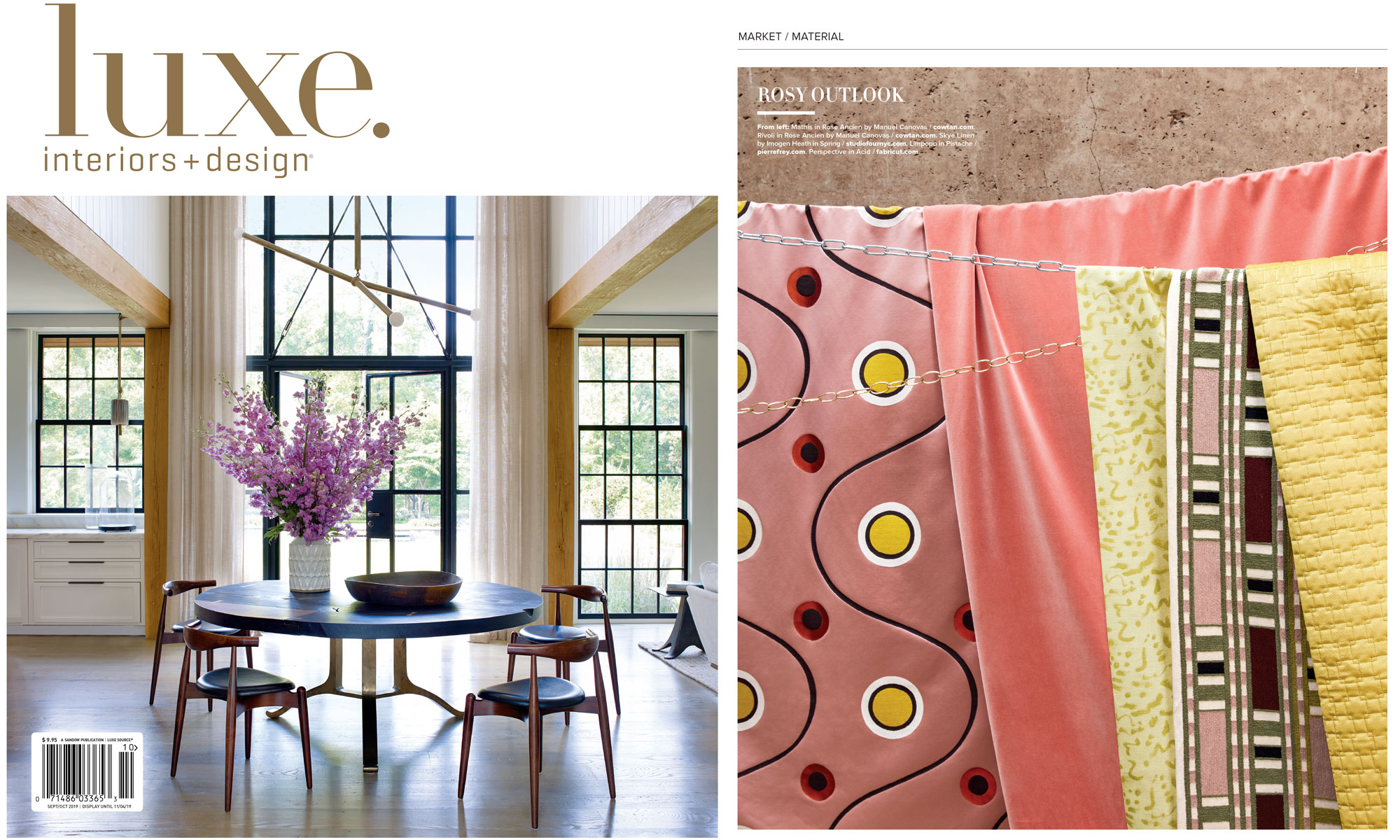 Our Skye Spring featured in US Luxe. Mag