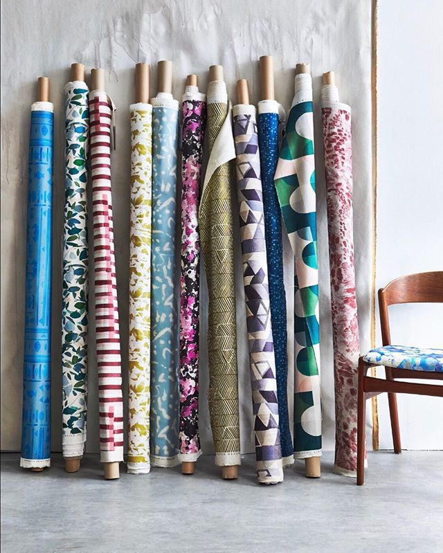 Today's the day we counted out a delivery of 200m of new fabrics for sampling & over the coming weeks we will be distributing gazillions of samples to people all over the globe!  This process is immensely labour intensive but such a core part of our business; showrooms, interior designers, press people you know who you are - your boxes of delights will be with you as soon as ✨✨✨✨✨✨✨✨✨✨✨ ————————————————————————Also don't forget to sign up if you would like to hear a bit more about the new collection & and any other new releases ( we only send a maximum of 6 newsletters a year!) or open a trade account to specify your own box of goodies xx thank you! #imogenheath #patternyourhome #patternisbest #livingwithpattern #luxuryfabrics #interiordecor