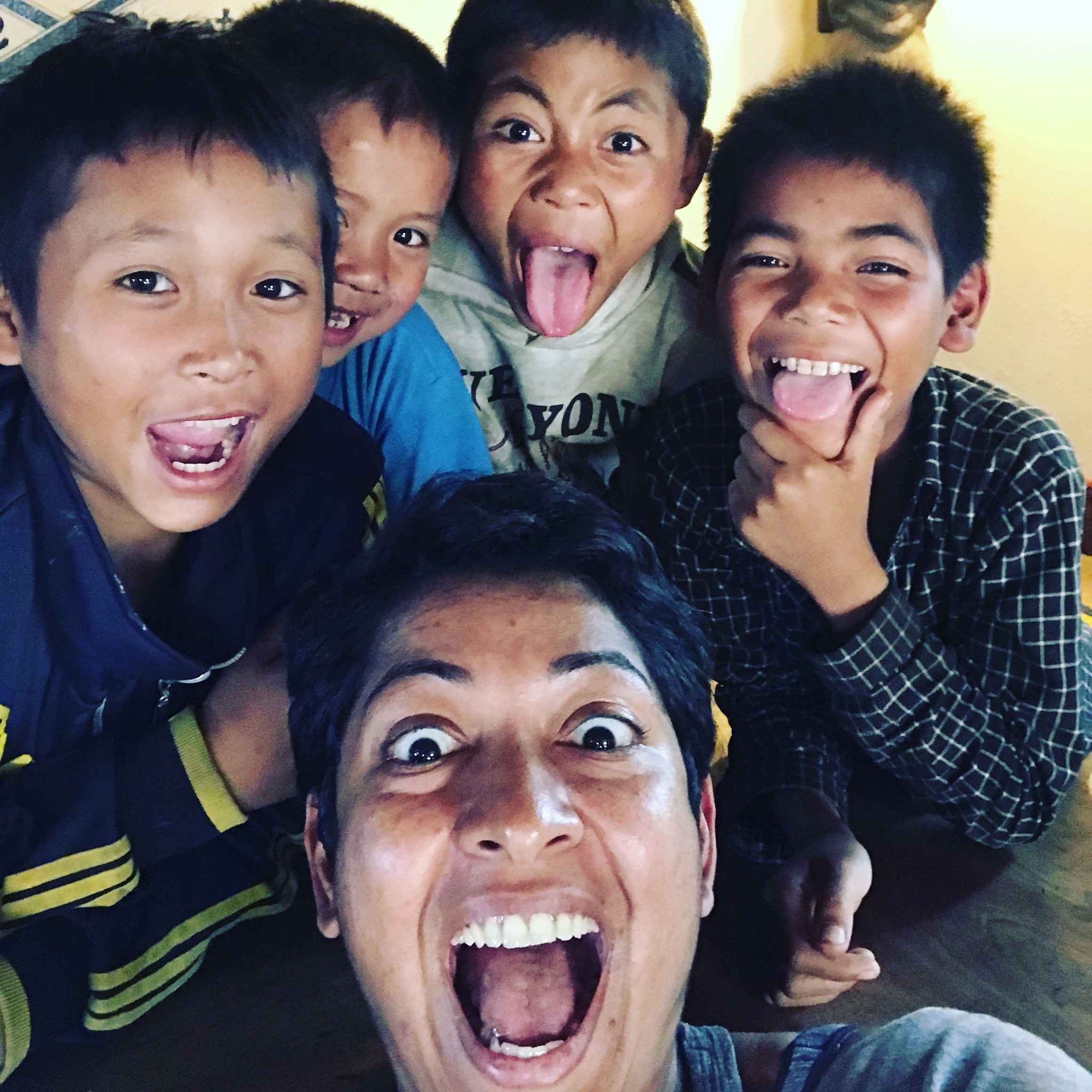With the amazing children of Paksong, Laos. Photo credit: Jen Green. Thank you Yen for bringing me to Laos in the first place and Tyson for so graciously hosting!