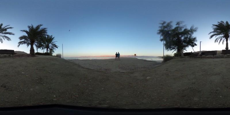 An Arava Sunset. PC: Nirupa Umapathy & Yigal