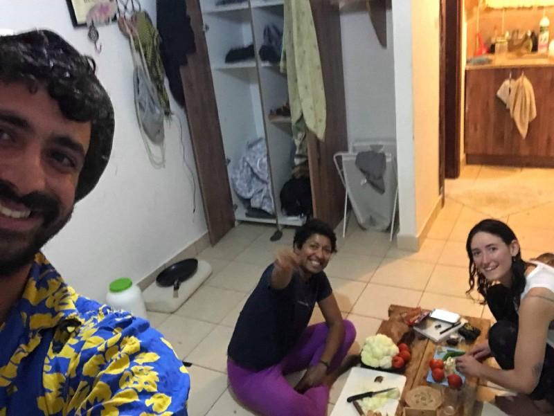 Rotem, Nirupa & Friends. Mushav Idan. October 2017. PC: Rotem T