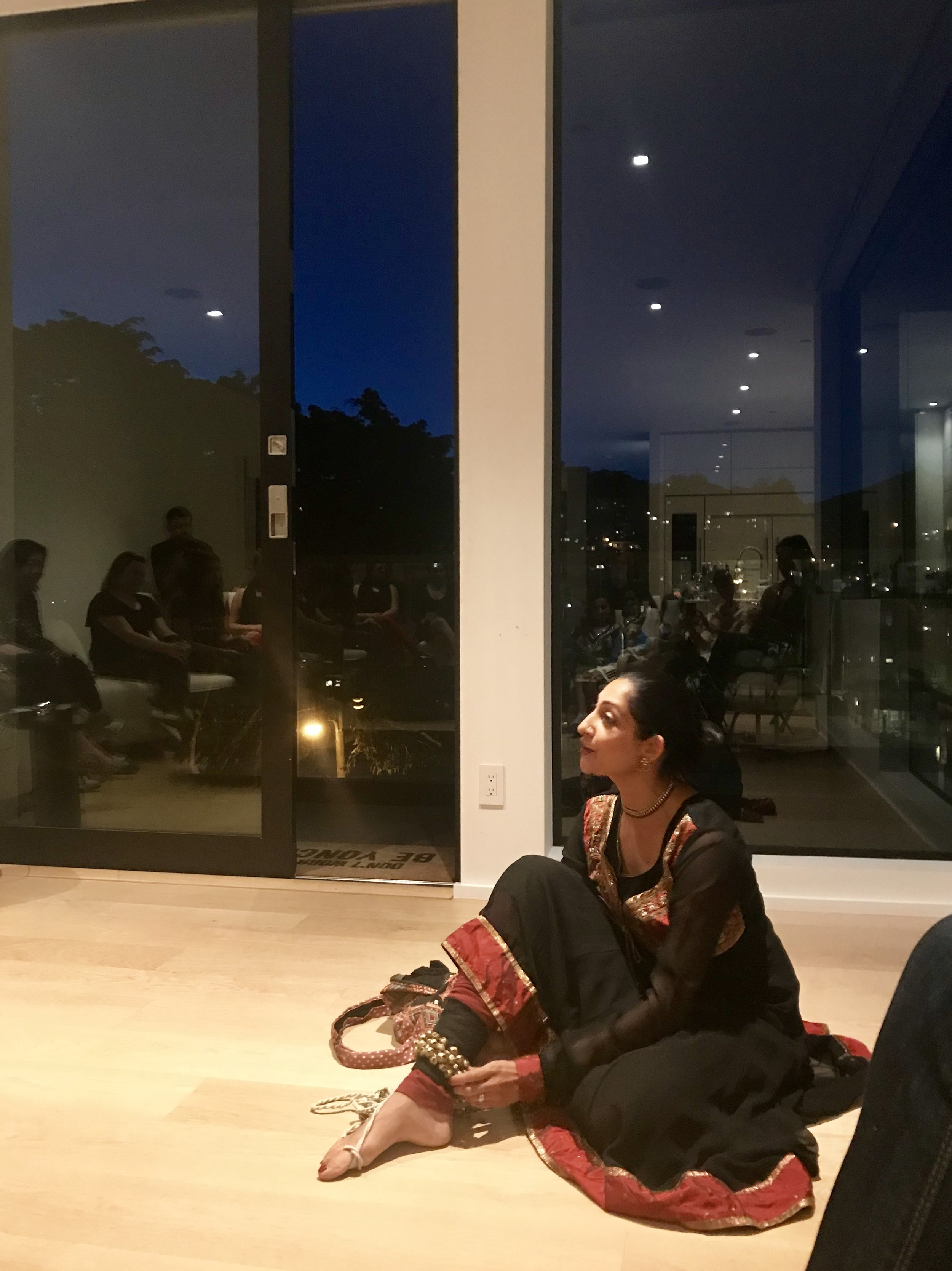 Farah Yasmeen Shaikh. Inside Out. San Francisco, CA. 9.20.2018. videos by Ajoy Advani.