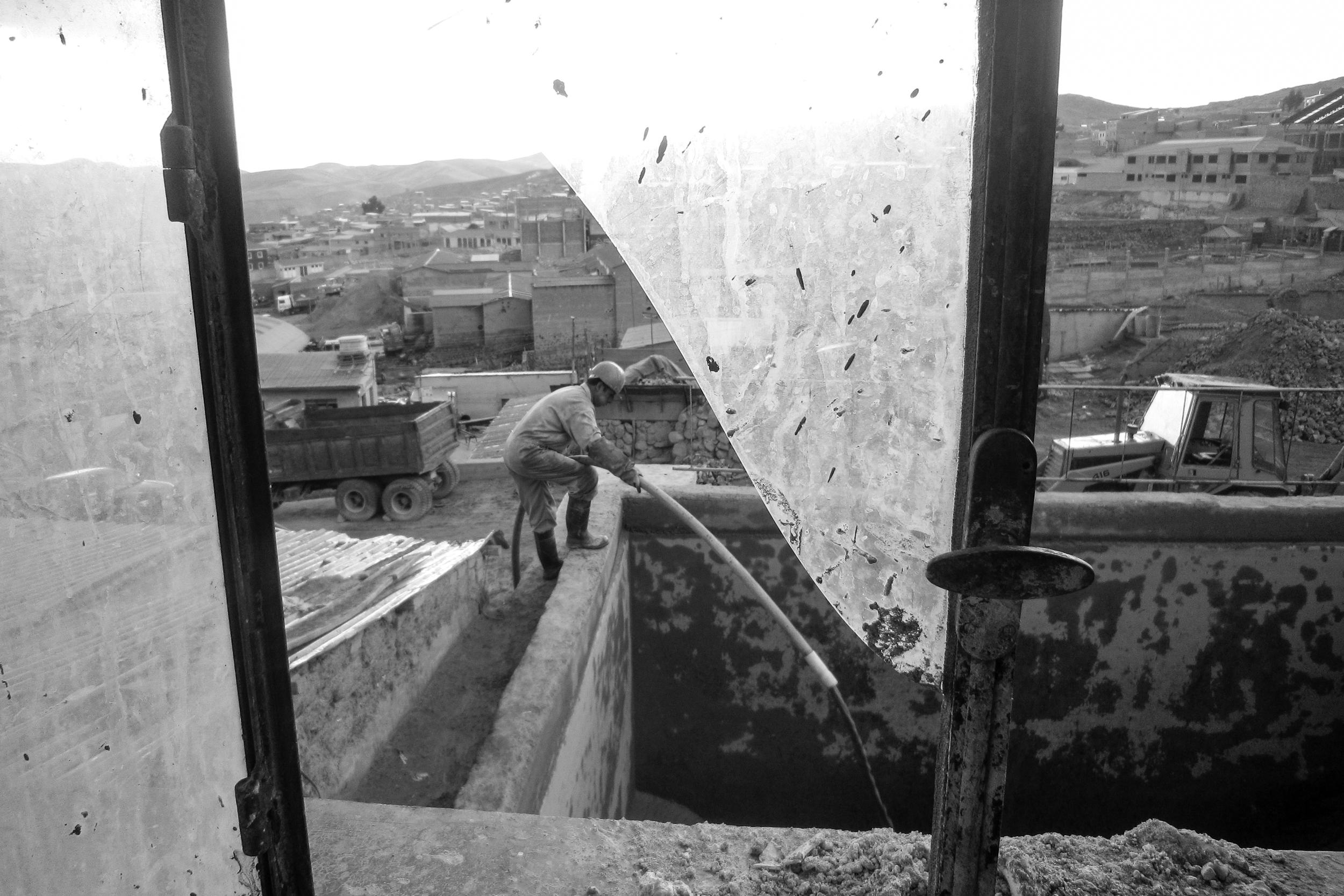 Miner. Bolivia.