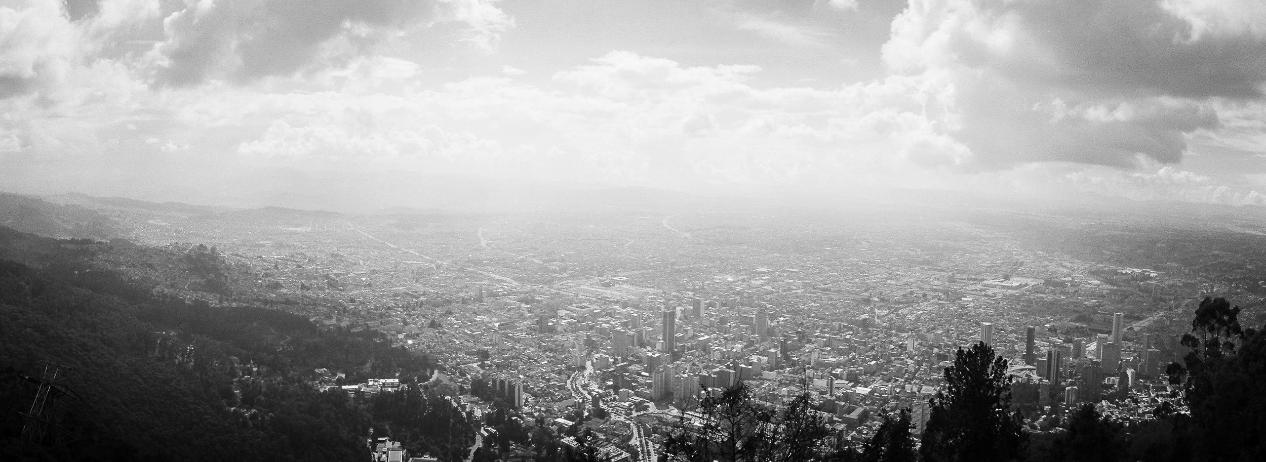 Bogota, Columbia. Camera: Noblex. Film: Kodak Portra 400