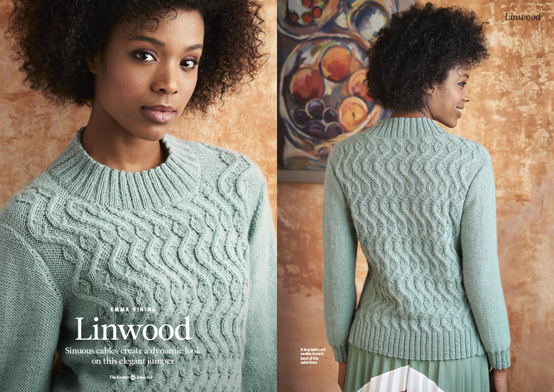 Shoot from recent Knitting Magazine shoot