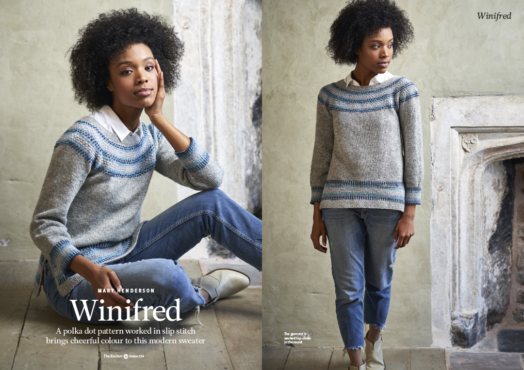 Knitters Magazine Shoot