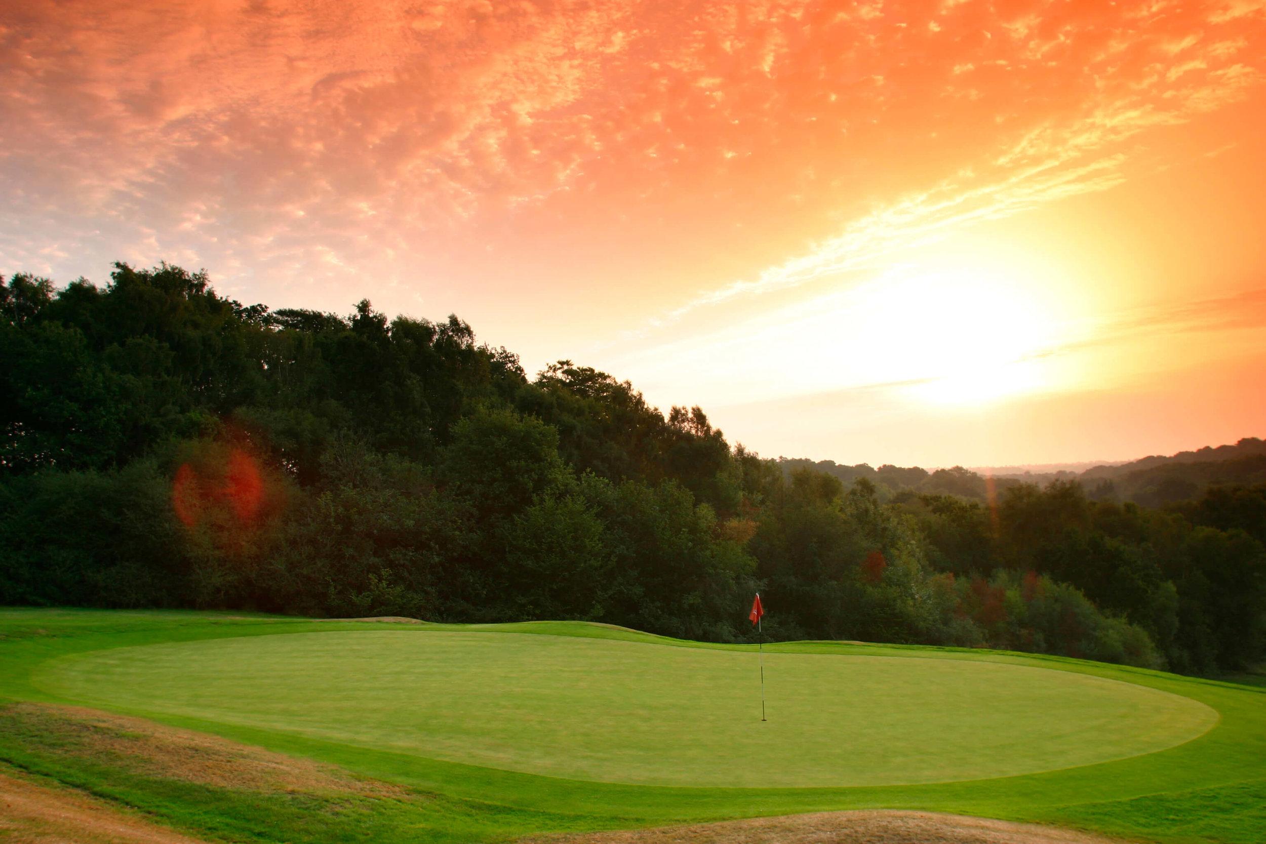 Mannings Heath Golf Club, Ideally Situation