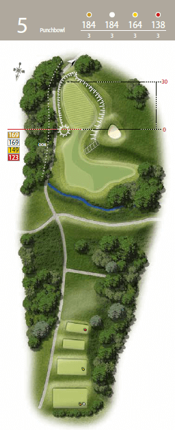 Punchbowl - Hole 5 - The Waterfall Golf Course.png