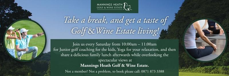 Get A Taste Of Golf &Wine Estate Living!