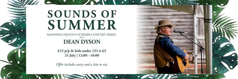 Dean Dyson Kicks Off The Mannings Heath Summer Concert Series