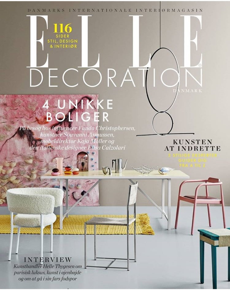 Elle Decoration  May 2018 Photo: Line Thit Klein
