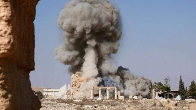 Destruction of Palmyra (BBC)