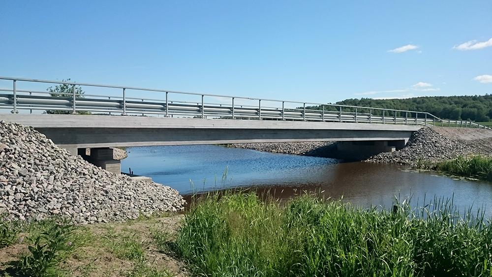Ny bro i Gräfsnäs, Alingsås  Vägsamfällighet, 2014-2015