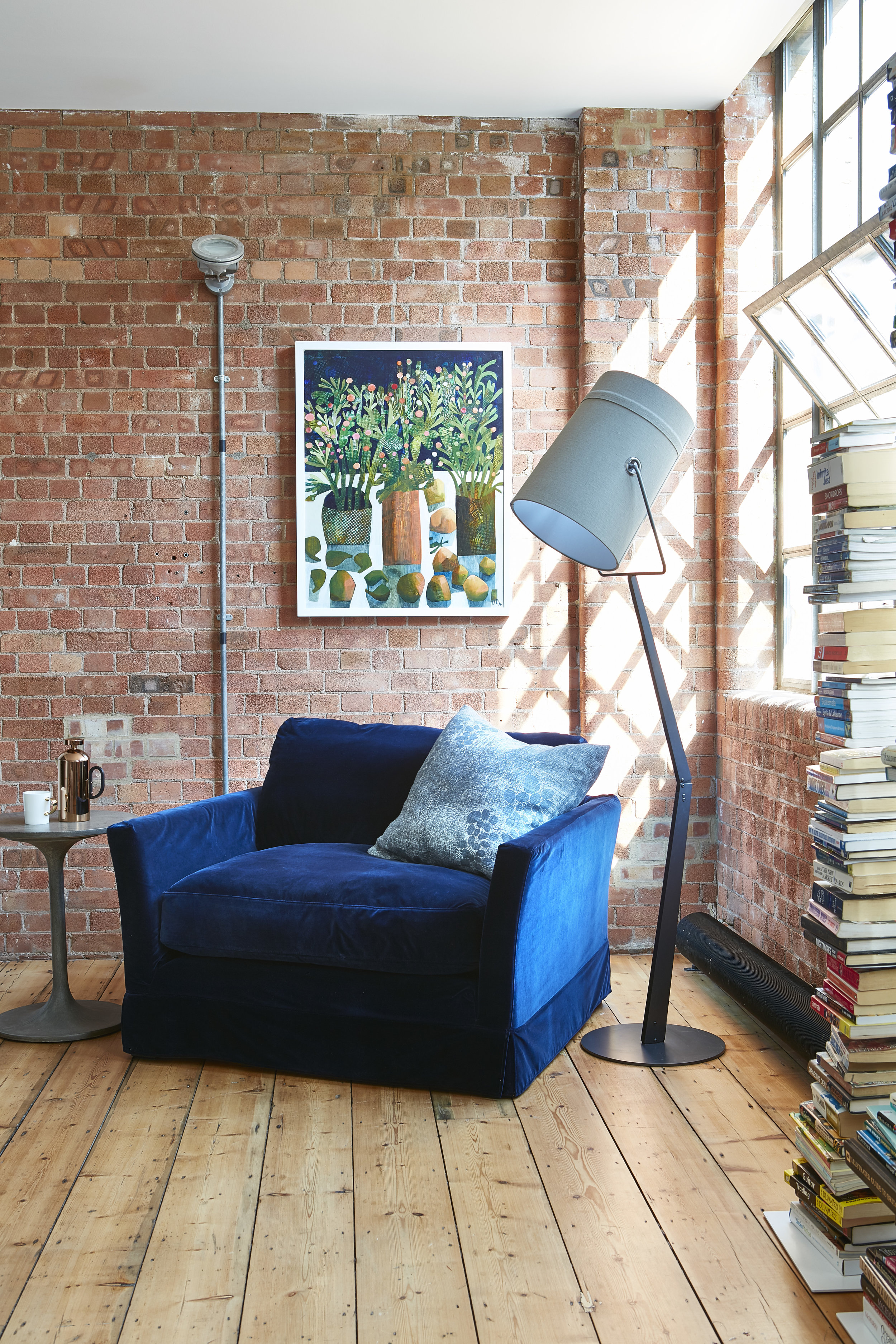 Converted Warehouse | London   Oil and Acrylic on Canvas      Interior Design: Huxley Home