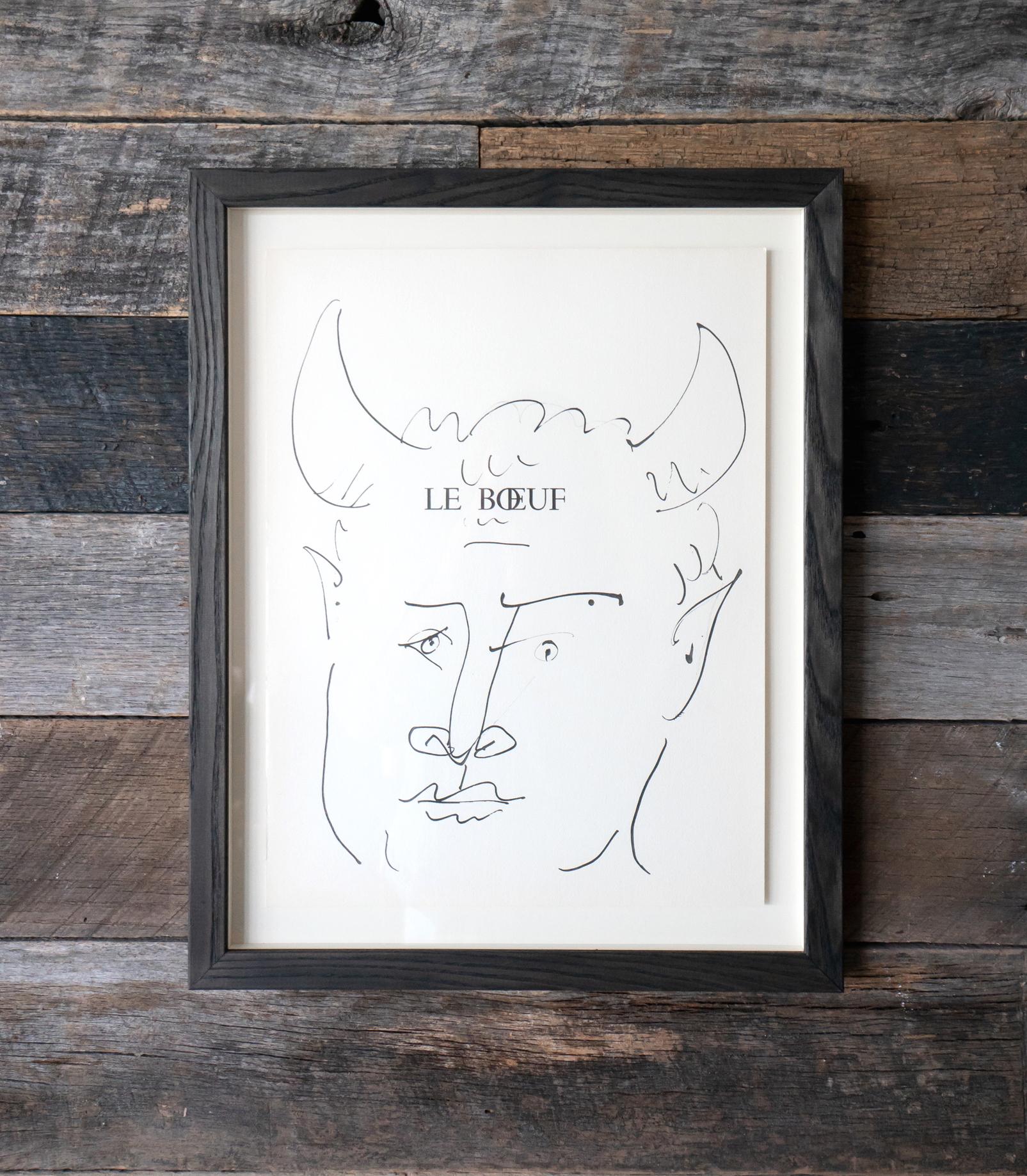The Round | Peckham   Picasso Lithograph on Paper      Interior Design: Mizzi Studio