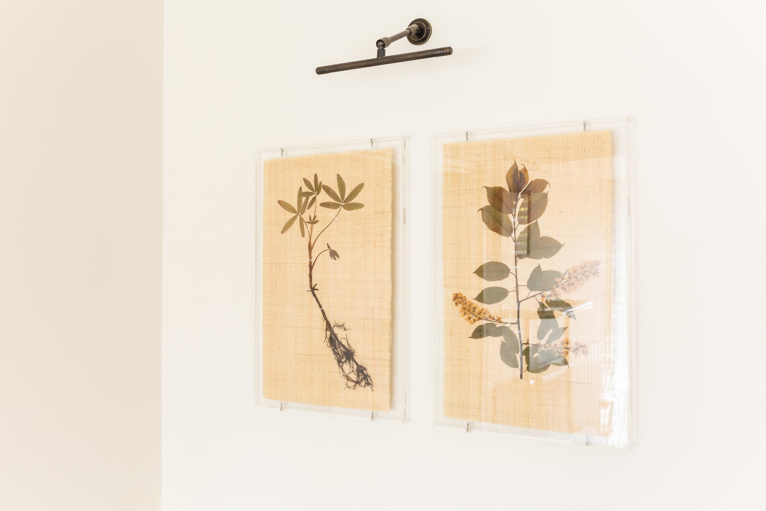 Private Residence | Hampstead   Dried Botanicals on Raffia      Interior Design: Article Design Studio